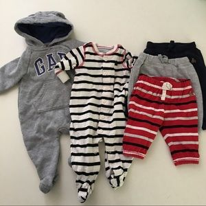 Baby Gap Lot of Boys Clothes Pants Hoodie Bunting