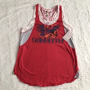 FP We the Free Indonesia tank NWT!