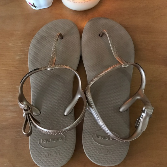 f1b686026d89 Havaianas Shoes - Havaianas Freedom Slim Sandal Rose Gold 37