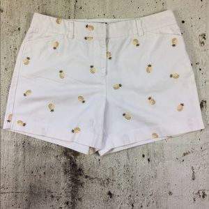 J Crew the favorite fit pineapple shorts