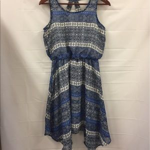 Asymmetrical hem dress size medium