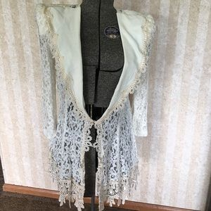 Vintage lace jacket.
