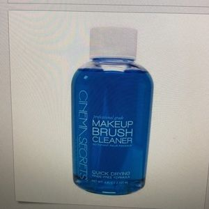 how to use cinema secrets brush cleaner
