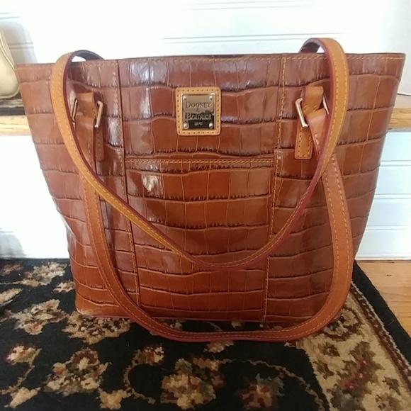 Dooney   Bourke Bags   Dooney Bourke Croco Charleston Bag   Poshmark f5ae281528