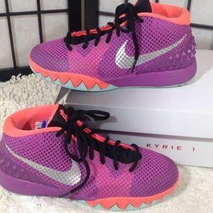 Nike Kyrie 1 lavender sneakers