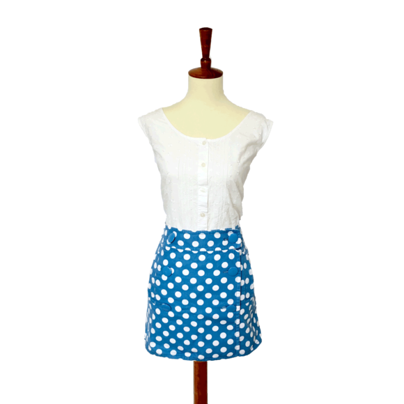 J. Crew Dresses & Skirts - J. Crew Polka Dot Skirt