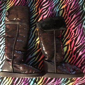 Uggs, Sequin Boots 👢