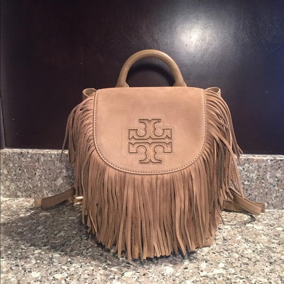 4614e592233 Tory Burch Harper Fringe Mini Backpack. M 5963d7fc9818298d6c014031