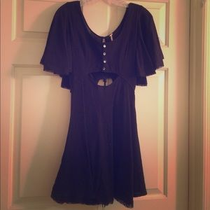 Free People Little Black City Dress