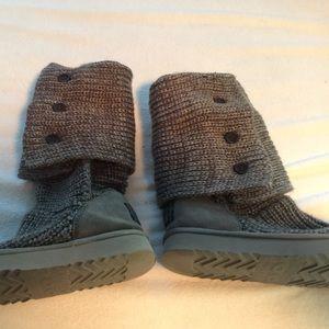 Ugg Shoes Cardi Grey Sweater Boots Poshmark