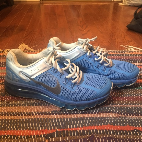 off Nike Shoes Baby Blue Nike Air Max 2013 from