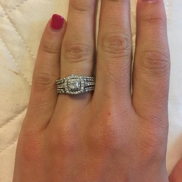 12 carat diamond ring enhancerwedding band - Wedding Ring Enhancer