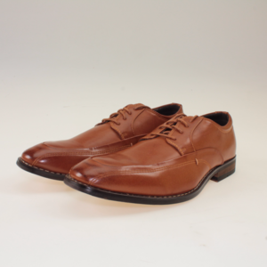 Other - Cognac Faux Leather Oxford Dress Shoes