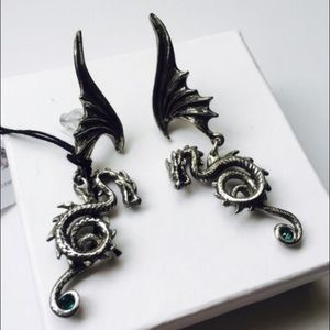 Royal Dragon Swarovski Crystal Dangle Earrings GoT