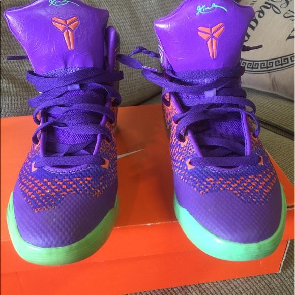 Nike Shoes | Kobe 9 Elite Purple Venom | Poshmark