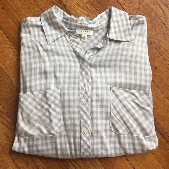 68 off joie tops nwot soft joie plaid shirt size small for Soft joie plaid shirt
