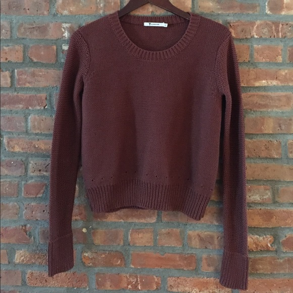 3384de02ff66 Alexander Wang Sweaters - Alexander Wang brown knit sweater