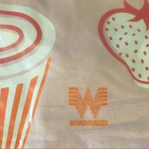 308ace55df6 Whataburger Shirts   Tops - 🍓🍔Whataburger Strawberry Shake T-Shirt
