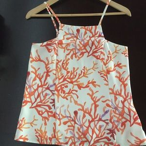 Cooper & Ella Seren abstract Coral tank - NWOT