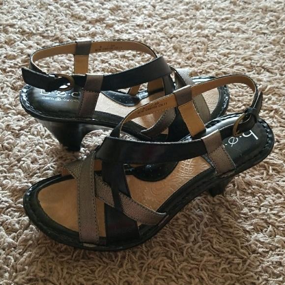 d23d658e7803 b.o.c. Shoes - Women s B.O.C Sandals - Black   Gray