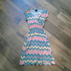 Colourful summer dress!
