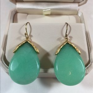 Jewelry - Beautiful sea foam Green Earrings - New with Tags