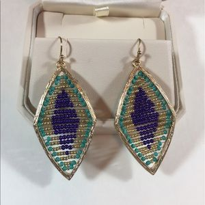 Jewelry - Gorgeous, drop bead earrings - New with Tags