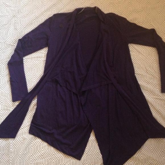 6c2006ba8c0 Icebreaker Sweaters - Icebreaker Bliss Wrap Purple Sweater Like New M