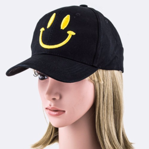 The Happy Hat--Black!!