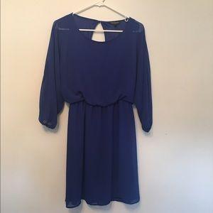 NWOT Express Chiffon Dress