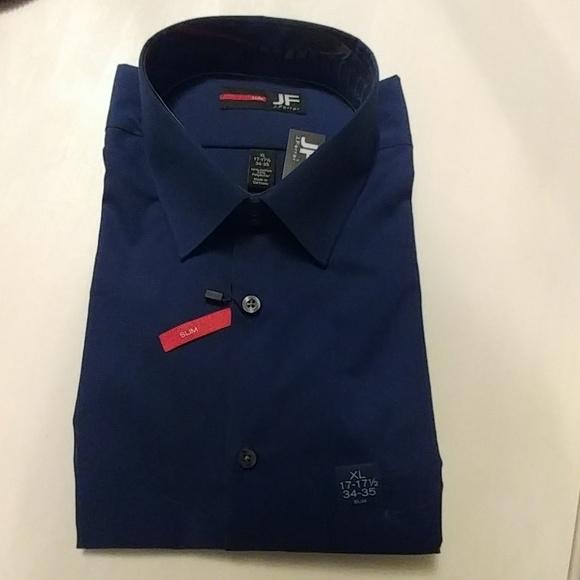 31 off jf other j ferrar slim dress shirt xl for J ferrar military shirt