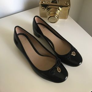Tory Burch patent leather heels
