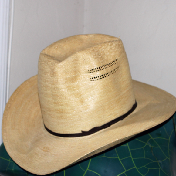 2x HP! Bangora straw cowboy American Hat Company