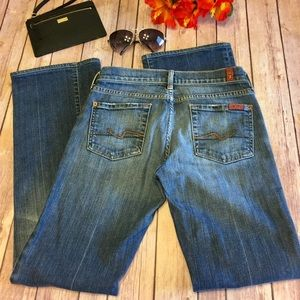 🌴SALE🌴 7 For All Mankind Low Rise Bootcut Jeans