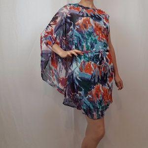 NWT BCBG FLORAL Mini Dress