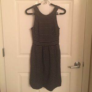 Madewell striped dress XS