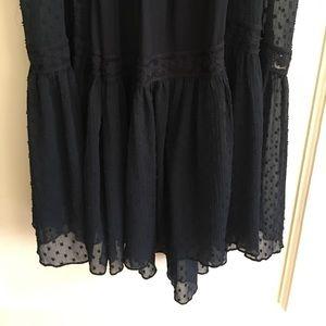 Zara Dresses - Zara Navy Blue Maxi Dress
