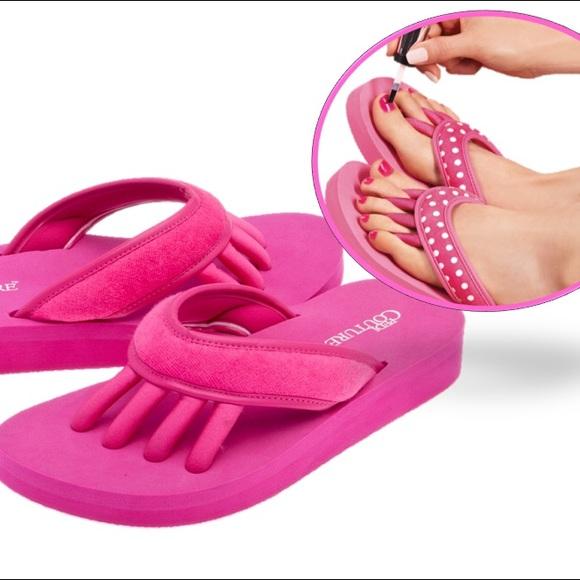 c5acdf896a47 Women s Pedicure Spa Sandals Size M 7-8