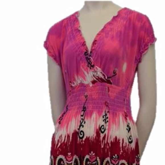 Funky People Dresses & Skirts - NWT ANTHROPOLOGIE Contemporary Capped Sun Dress