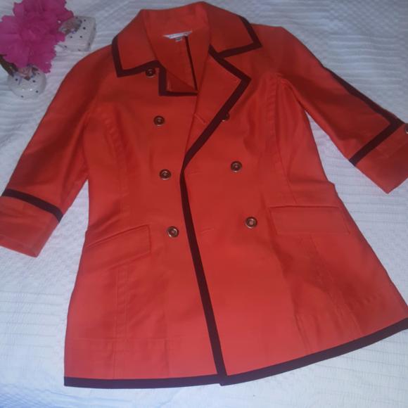 af35a70ac1f8d ... St.John size P coat. M 59640792713fde16f001fbcf