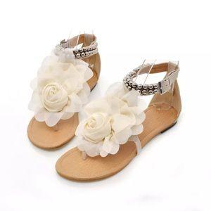 Shoes - Flower Sandals