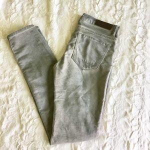 All Saints Grey Skinny Jeans Size 27