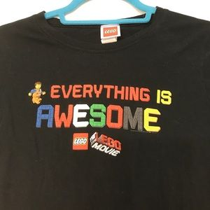 The Lego Movie Everything is Awesome Kids Shirt
