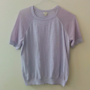 J Crew Periwinkle Lightweight Sweater Top