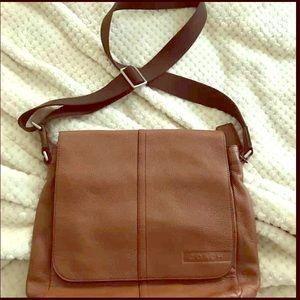 Authentic coach messenger bag. 💼 originally $200