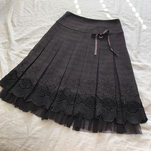 Dresses & Skirts - Tweed Lace Skirt