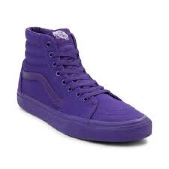 e252f29a1b Sk8 Hi Top Purple Vans