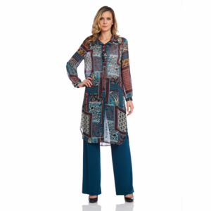 HOST PICK !!! Printed Long Tunic Blouse