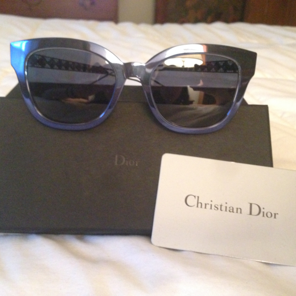170dabb1cfed Dior Accessories - Dior Diorama 1 Caged Mirrored Sunglasses NWOT
