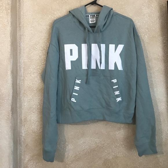 92ddad5215c PINK Victoria's Secret crop top sweatshirt. M_596418564e95a3e1ac0c5098